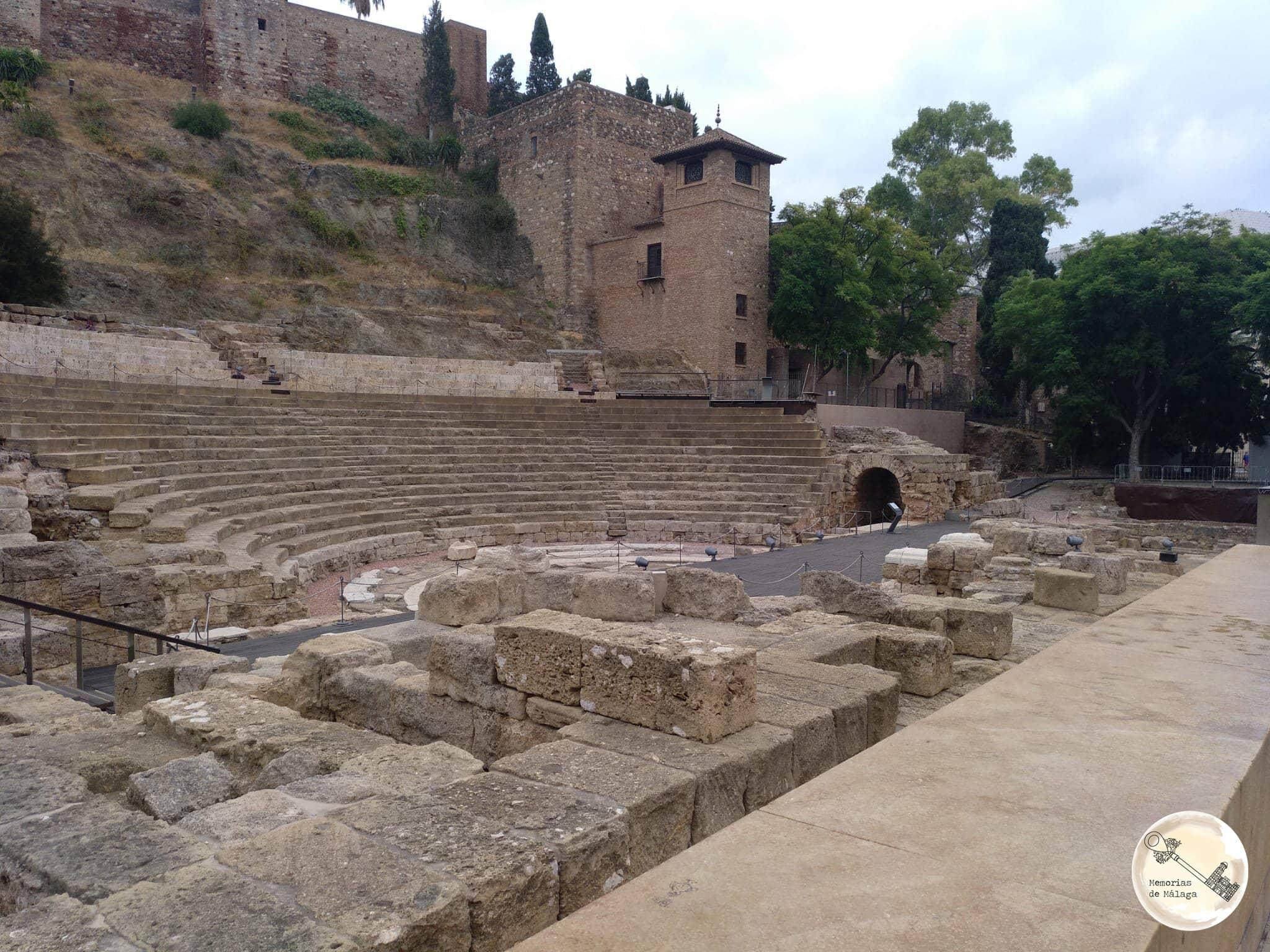 Teatro romano de Málaga Memorias de Málaga